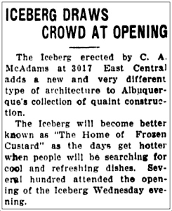 iceberg_grand-opening_albuquerque-journal_052831