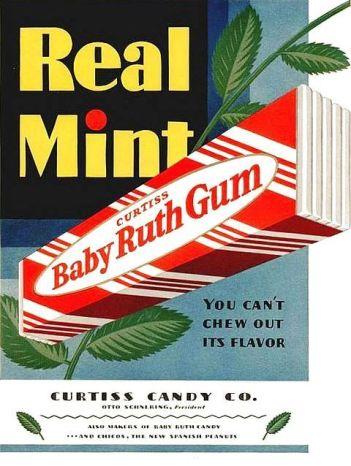 baby ruth gum