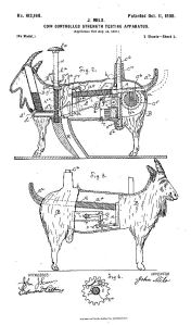milo_goat_patent-drawing_1898