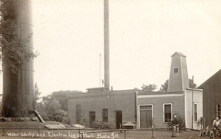 IL_standpipe_buda-IL_postmarked-1909